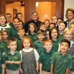 home page Bishop with Jane Students